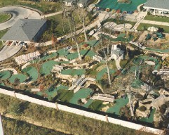 Ariel View of Park, Entertainment Concepts, Inc. in Mount Prospect, IL